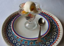 Dondurmalı Meyve Salatası